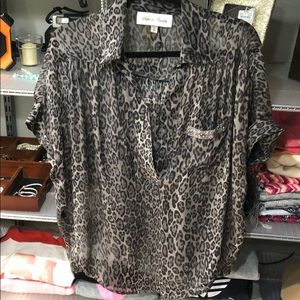 Fifteen Twenty silk blouse XS